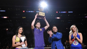 Devin Booker took off the competition with a record-breaking troika